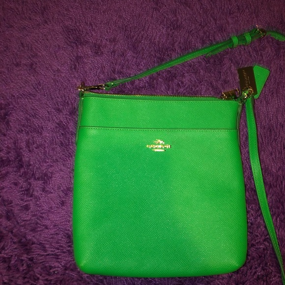 Coach Handbags - Coach Women's Crossbody Bag - Green